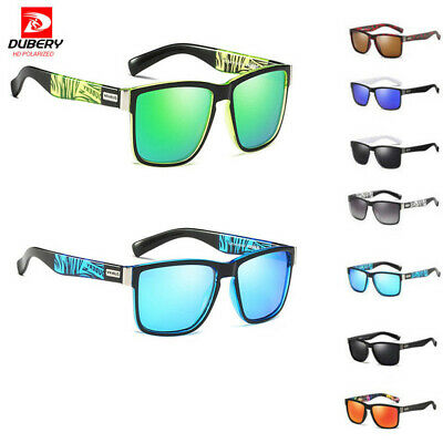 AU7.99 • Buy DUBERY Mens Polarized Sunglasses Driving Sport Outdoor Fishing Eyewear Glasses