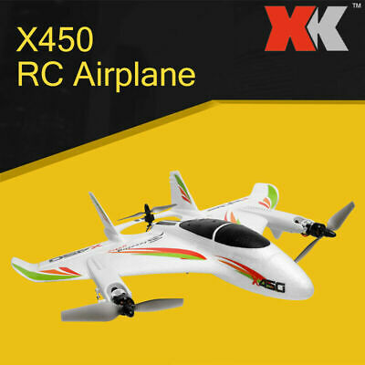 £107.99 • Buy WLtoys XK X450 Fighter 2.4G 6CH RC RTF Airplane Aircraft Fixed Wing Plane.NEW