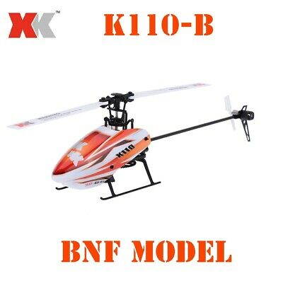 £72.29 • Buy WLtoys XK K110-B RC Helicopter 270mm3D6G Remote Control Aircraft Brushless Motor