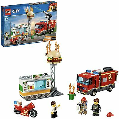 £17.99 • Buy Lego City Burger Bar Fire Rescue (60214) New Sealed