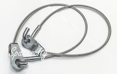 AU59.95 • Buy Holden Tailgate Limiting Limiter Cable HJ HX HZ WB Ute Van Strap PAIR NEW
