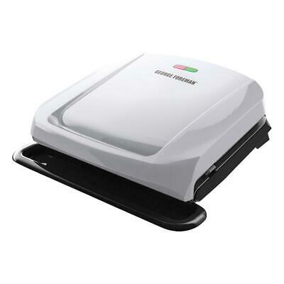 George Foreman 4-Serving Size Platinum Removable Plate Grill And Panini Press • 47.50£