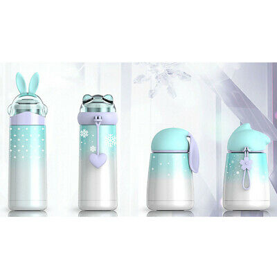 AU22.89 • Buy Cartoon Child Double Wall Thermos Water Bottle Stainless Steel Vacuum Insulated