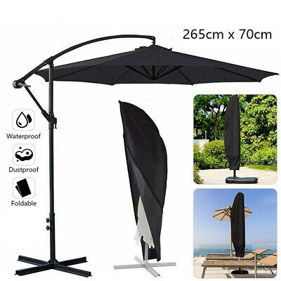 AU24.99 • Buy Parasol Banana Umbrella Cover Waterproof Cantilever 265cm Garden Patio Shield