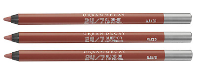$19.95 • Buy 3 X Urban Decay 24/7 GLIDE-ON Lip Pencil LINER ~ NAKED ~ Lot Of 3 X .03 Oz.