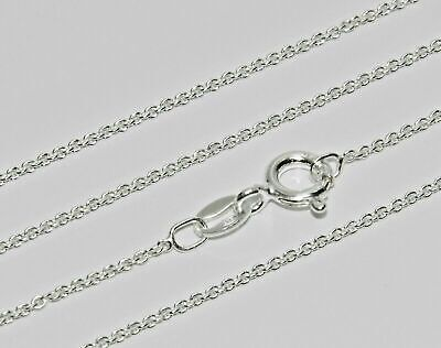 925 Sterling Silver Fine Belcher Chain - 18 Inch - Strong & Durable • 3.50£