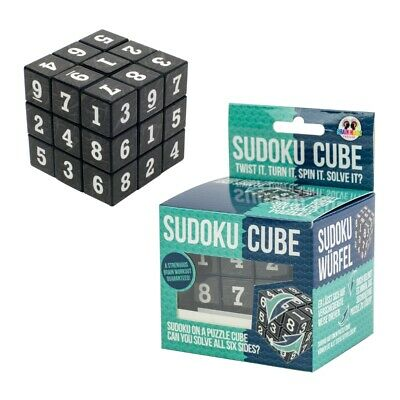 £8.49 • Buy Sudoku Cube Puzzle Game Brain Teaser Handheld Puzzle IN PLASTIC FREE PACKAGING