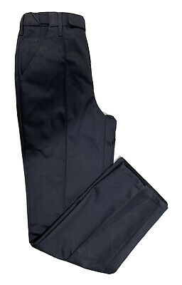 Genuine Ex Police Seamed Trousers Black Uniform Security Prison Formal Occasion • 9.99£