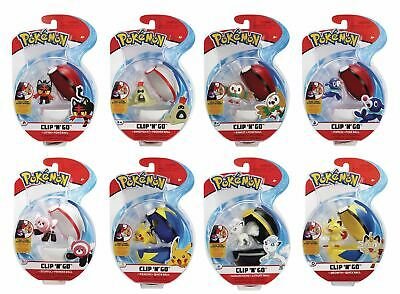 Pokemon Clip N Go New Sealed Choose Your Favourite • 12.75£