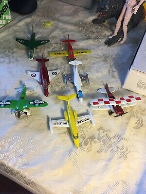 Vintage Collection Of Matchbox Planes By  Lesney SP2 1973 Corsair A7D Et Cetera • 30£