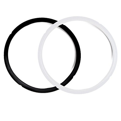 $7.51 • Buy Pack Of 2 Silicone Sealing Rings For 5 & 6 Quart - Fits IP-DUO60, IP-LUX60, And