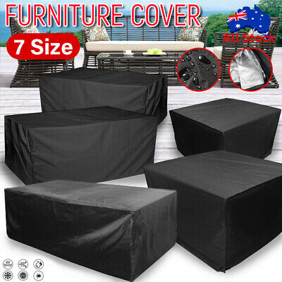 AU34.59 • Buy IN/Outdoor Furniture Cover UV Waterproof Garden Patio Table Shelter Chair Sofa