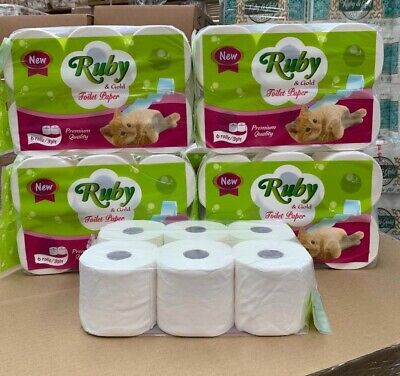 AU3 • Buy 6 Rolls 3ply Ruby & Gold Toilet Paper