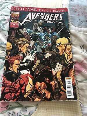 £5 • Buy Avengers UnConquered Civil War The Aftermath Issue 8 19th August 2009 Marvel