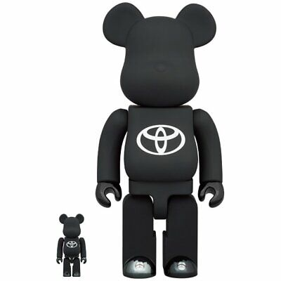 $305 • Buy BE@RBRICK TOYOTA Drive Your Teenage Dreams 100% & 400% Medicom Toy Bearbrick