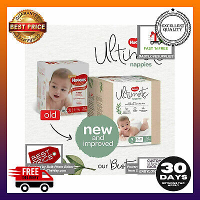 AU38.99 • Buy Huggies Ultimate Nappies Unisex Size 3 (6-11kg) 72 Count