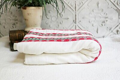 $ CDN90.99 • Buy  Vintage Christmas Holiday Tablecloth, Christmas Striped Rectangular Tablecloth