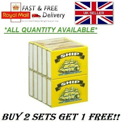 Ship Safety Matches Bbq Camping Candles Lighter Cooking *buy 2 Set Get 1 Free*uk • 2.25£