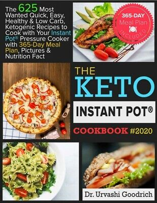 $5.99 • Buy Keto Instant Pot® Cookbook #2020 – The 625 Most Wanted Quick, Easy, Healthy