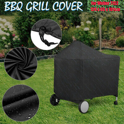 $ CDN22.96 • Buy For Weber 7152 Black Grill Cover Protective For Performer Charcoal BBQ US Stock