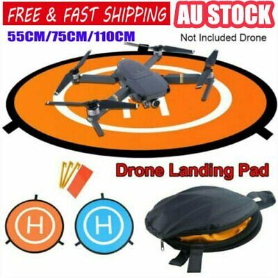 AU16.41 • Buy Fast-fold Landing Pad Parking Apron For DJI Mavic Spark Drone 55cm 75cm 110cm HA
