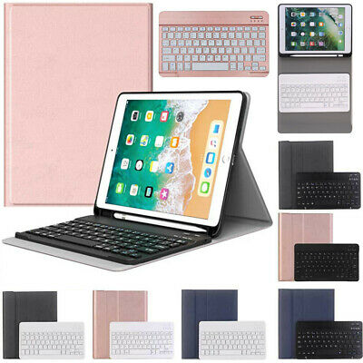AU21.89 • Buy AU For IPad 6th/5th Gen 2018/2017 9.7  Bluetooth Keyboard With Stand Case Cover