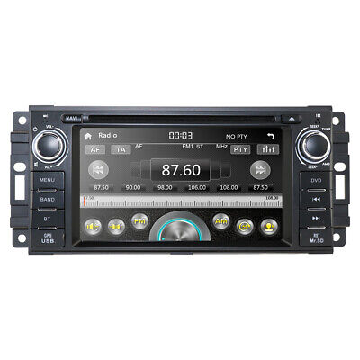 $207 • Buy In Dash Car Stereo Radio GPS Navigation DVD Player For Dodge Grand Caravan + Map