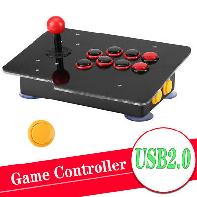 £23.03 • Buy Wired USB Arcade Fighting Stick Joystick Gaming Controller Video For PC Game New