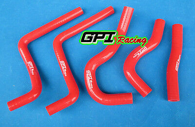 $22 • Buy Silicone Radiator Hose For Honda CR125 CR125R 2003 2004 03 04 RED