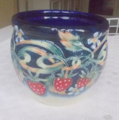 Vintage Old Tupton Ware The Collection Bowl Jeanne Mcdougall  Dec. Strawberries • 19.99£