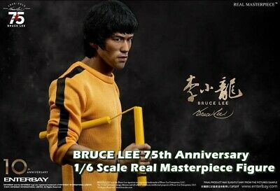 $1032.50 • Buy Enterbay BRUCE LEE 75th Anniversary 1/6 Scale Real Masterpiece Figure NEW Rare