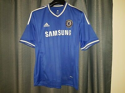 CHELSEA Adidas Football Shirt Mens Extra Large Blue Home Top 2013 2014 Jersey XL • 17.95£