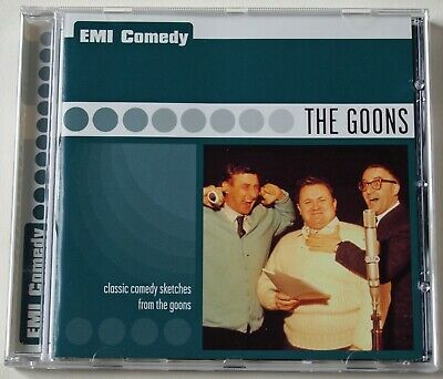 THE GOONS / SPIKE MILLIGAN PETER SELLERS /THREE 1950's BBC SHOWS / EMI GOLD 2000 • 3.99£