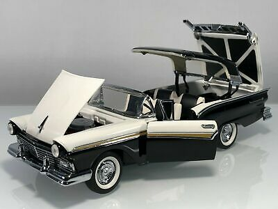 $219.99 • Buy Franklin Mint 1957 Ford Fairlane 500 Skyliner Retractable HT NIB With Paper Work