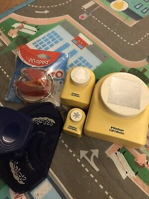 Woodware Craft Stamps X 3. Maped Stamp X 1. Other Stamp X 1. Some Used Some New • 1.20£