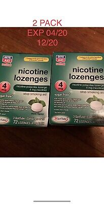 $ CDN64.28 • Buy Nicotine Lozenges 144 Count 4Mg Mint Flavor 6 Tubes Of 24 Exp 4/20 12/21
