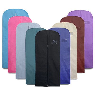 £5.99 • Buy 54  Suit Cover Clothes Bag Breathable Travel Zipped Dress Garment Storage Bags