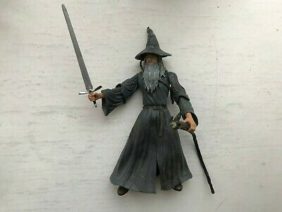 Lord Of The Rings Gandalf Grey Action Figure Toy Biz Series Fellowship • 12.99£
