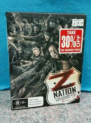 AU39 • Buy Z Nation The Complete Seasons 1-3 Blu-Ray Set (8 Discs)