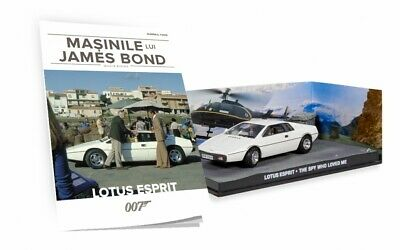 $ CDN24.36 • Buy JAMES BOND CAR COLLECTION- LOTUS ESPRIT (The Spy Who Loved Me), 1:43 Size, New