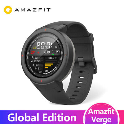 View Details Huami Amazfit Verge Sport Smartwatch GPS GLONASS Music On Board Call Answer • 69.00£