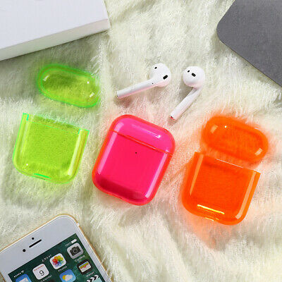 $ CDN6.74 • Buy Color Earphone Accessories For Apple AirPods Transparent Hard PC Case Cover
