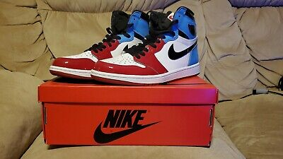 $265 • Buy Air Jordan 1 Retro High OG Fearless - UNC To Chicago - Size 8 - USED
