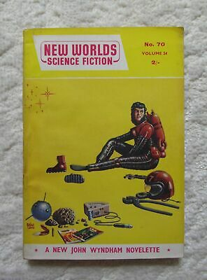 For All The Night By John Wyndham 1958 New Worlds Science Fiction. First Edition • 9.99£
