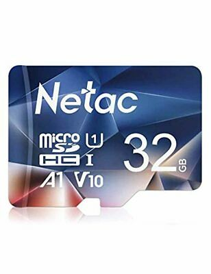 $9.09 • Buy Netac 32GB Micro SD Card, MicroSDHC UHS-I Memory Card - 90MB/s, 600X, U1, C10