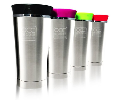 £9.99 • Buy Stainless Steel Travel Mug*Leak Proof,No Spill Flask*Best Tea Coffee Cup*Colours