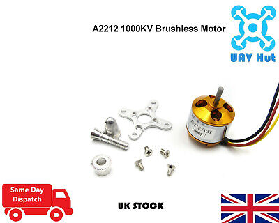 A2212 1000KV Brushless Motor For Drone Quadcopter Outrunner Airplane Aircraft • 4.99£