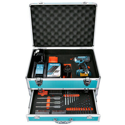 Makita DTD152 18v Impact Driver + 1 X 5Ah Battery & Charger With 70 Pc Acc.set • 193.50£