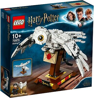 $ CDN52.99 • Buy LEGO Harry Potter Hedwig Display Model Moving Wings (75979)