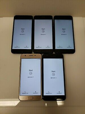 $ CDN233.45 • Buy LOT OF FIVE!! Samsung Galaxy J3 SM-J337 - 16GB - (Unlocked) Smartphone